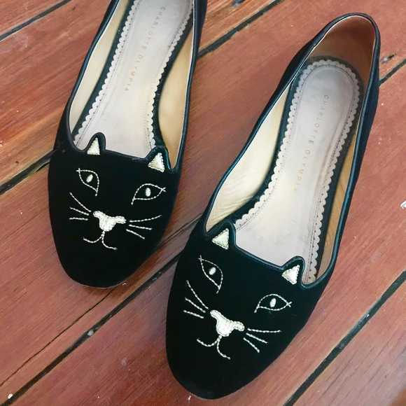 b52d3df45 Charlotte Olympia Shoes - Charlotte Olympia Kitty Flats